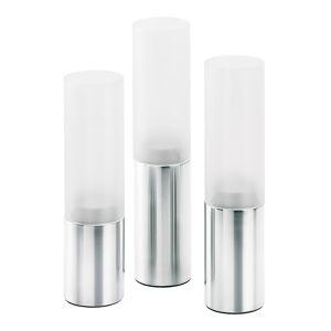 Blomus Faro Ljuslykta 3-pack Frostat glas