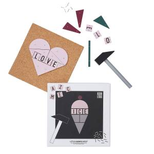 Design Letters Little Hammer Artist Ice Cream, Hammarspel