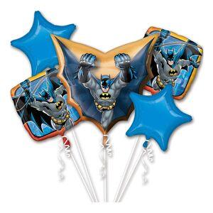 Amscan Ballongbukett Batman - 5-pack