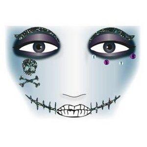 ART Herma stickers Face Art pirat (1) 5st