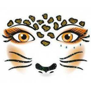 ART Herma stickers Face Art leopard (1) 5st