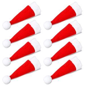 TRIXES uppsättning 8 egendomliga Santa hatt jul middag bestick inne...