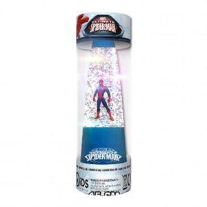 Spider-man Spiderman, glitterlampa