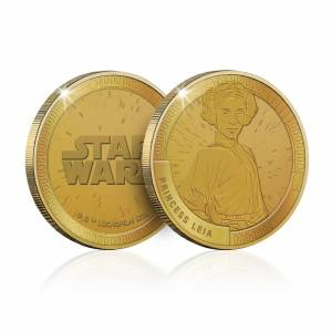 All Things Epic Collectable Star Wars Commemorative Coin: Princess Leia - Zavvi Exclusive (Limited to 1000)