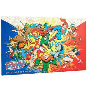 DCShoe Comics JLA Limited Edition Collectable Coin Advent Calendar - Zavvi Exclusive