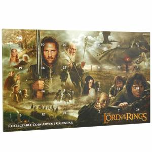 Lord of the Rings Limited Edition Collectable Coin Advent Calendar - Zavvi Exclusive
