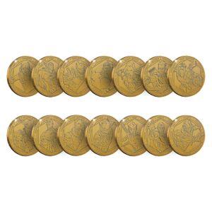 Zavvi Marvel Commemorative Collector's Coin (Set of 14) - Zavvi Exclusive