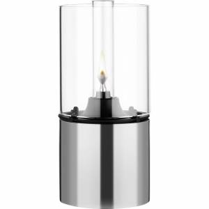 Stelton Oljelampa Rostfritt Stål Klart Glas