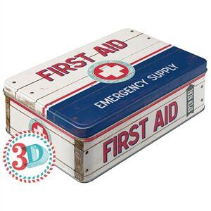Bromma Kortfrlag Plåtburk First Aid Emergency Supply