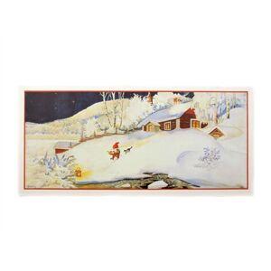 Bromma Kortförlag Julbonad Snö Nr.16