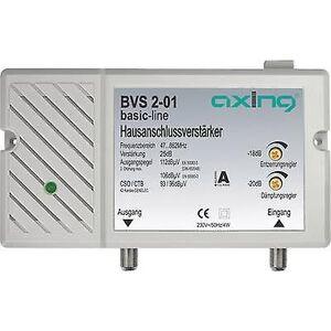 Axing BVS 2-01 kabel-TV forsterker 25 dB