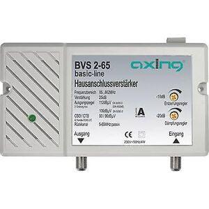 Axing BVS 2-65 kabel-TV forsterker 25 dB