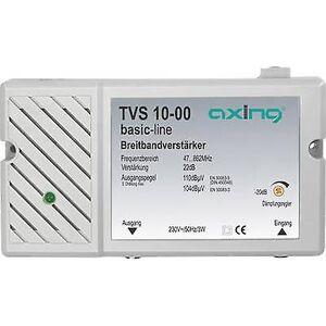 Axing TV 10 Multiband forsterker BK, DVB-T 22 dB