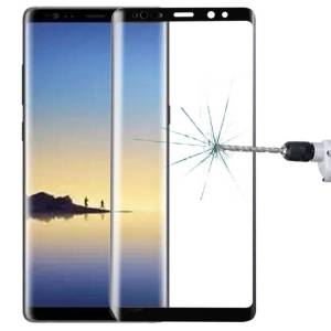 Samsung Galaxy Note 8 näytön suojalasi (musta)