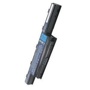 Gateway NV55C35U batteri (4400 mAh, Sort, Originalt)