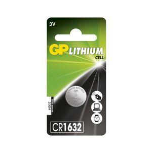 GPBM Nordic Gp Lithium Cell Cr1632-Batteri, 1 Pakk