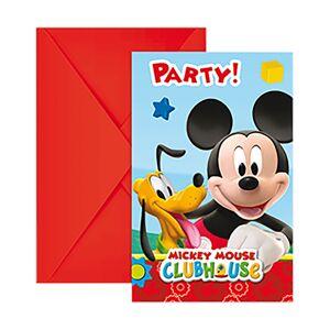 Disney Mikke Mus 6 Pack Invitere