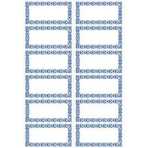 Herma 4008705037426 Herma Etiketter Vario kjøkken & fryser Blå ramme (Kan sendes i brev)