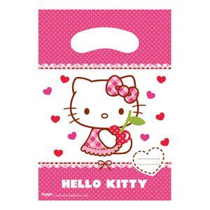 Globos Nordic Kalaspåsar Hello Kitty - 6-pack