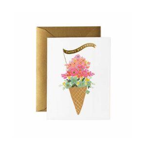 Parlebo Ice Cream Birthday Kort