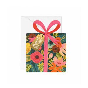 Parlebo Birthday Present Kort