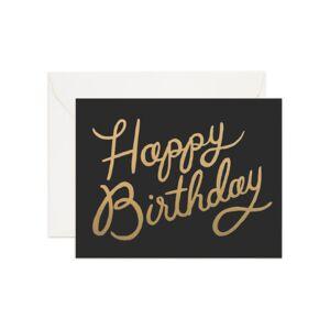 Newport Shimmering Birthday Kort
