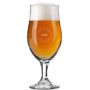 YourSurprise Ölglas med namn Graverat ölglas med namn: med namn, text, olika designs och typsnitt (1)