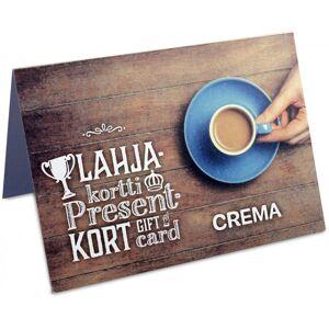 Crema Presentkort