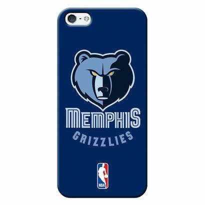 Capinha de Celular NBA - Iphone 5C - Memphis Grizzlies - NBAA17 - Unissex