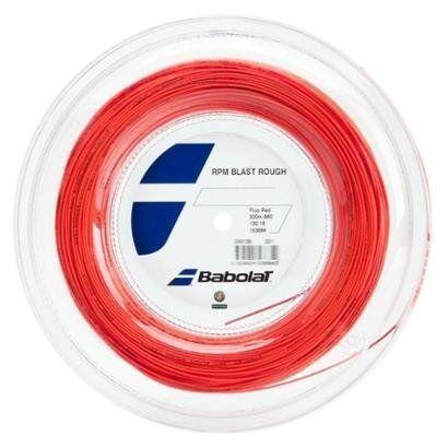 Corda Babolat RPM Blast Rough 16L 1.30mm Rolo com 200 Metros - Unissex