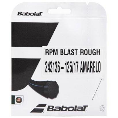 Corda Babolat RPM Blast Rough 17L 1.25mm - Set Individual - Unissex