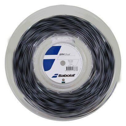 Corda Babolat Rpm Dual 17L 1.25Mm Rolo Com 200 Mts - Unissex