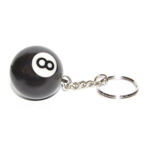 Biljardexperten Keyring 8-Ball
