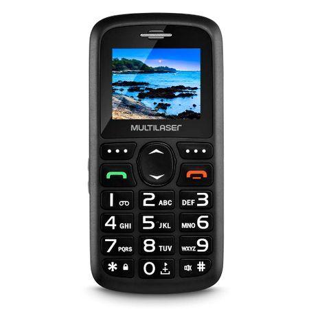 Multilaser Celular Vita Dual Chip Tela 1,8 Pol. USB e Bluetooth Preto Multilaser - P9048 P9048