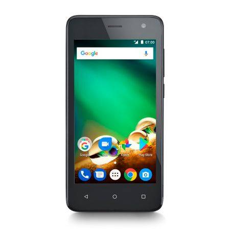 Multilaser Smartphone Multilaser MS45 4G 1GB Preto Tela 4.5 pol. Câmera 8 MP + 5 MP Quad Core 8GB Android 7.0 - P9062 P9062
