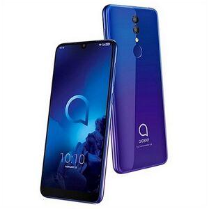"""Alcatel 3 Smartphone - 6"""" Skærm - 32gb - 13mp - Lilla"""