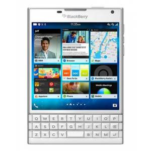 Blackberry Passport 32GB pure white QWERTZ