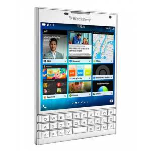 Blackberry Passport 32GB pure white QWERTZ