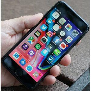 Apple iPhone 8 64GB rymdgrå (beg med märke baksida) ( Klass B )