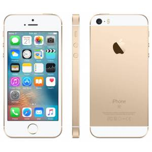 Apple iPhone SE 16GB Vit/Guld