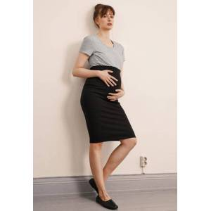 Boob, OONO Pencil Skirt, Black