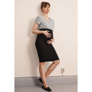Boob, OONO Pencil Skirt, Black