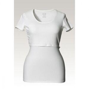 Boob, Classic short-sleeved top, hvit