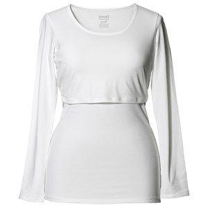 Boob Long Sleeve Classic Top White XS