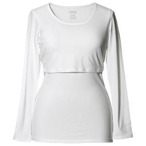Boob Long Sleeve Classic Top White S