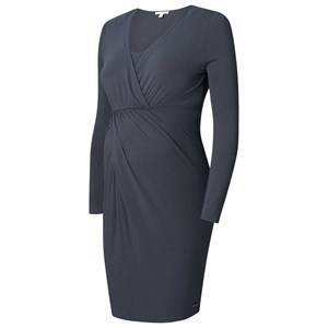 Esprit Maternity Dress Nursing LS Dark Grey XL *7. Mammaklder
