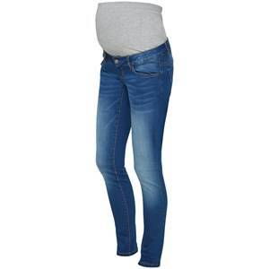 Mamalicious Fifty 002 Slim Jeans Medium Blue Denim 32