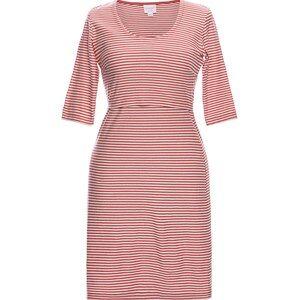 Boob Eva Striped Dress Tofu/Faded Rose 38
