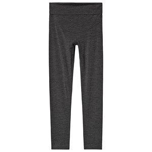 Boob Once-On-Never-Off Merino Wool Leggings Dark Grey Melange S (36)