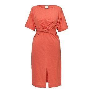Boob Zadie S/S Dress Coral Aningsklänningar